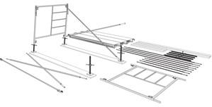 نصب پایه داربست